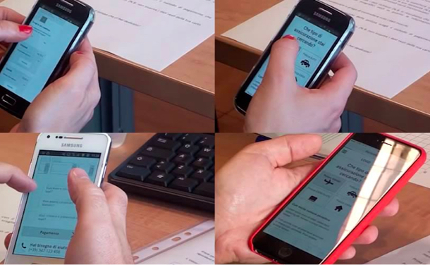 AXA mobile usability test