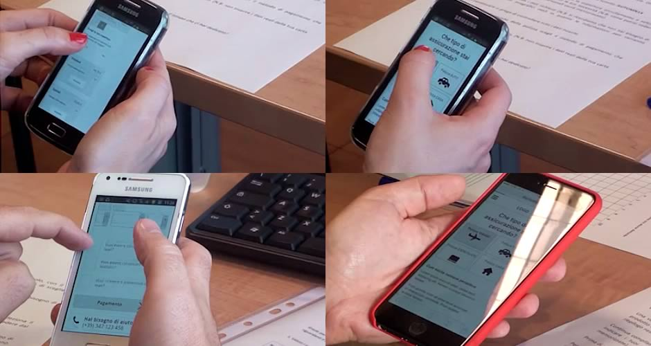 Mobile usability test